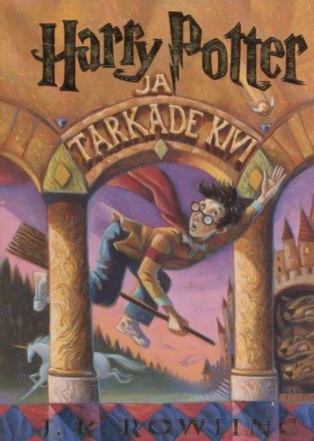 Harry Potter 1: ja Tarkade Kivi (estonio)